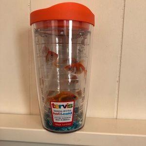 16oz goldfish Tervis tumbler